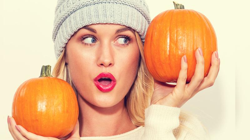 Pelle da paura: ad Halloween tutte pazze per la zucca
