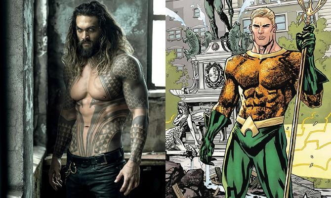 Justice League: i supereroi del film e dei fumetti a confronto