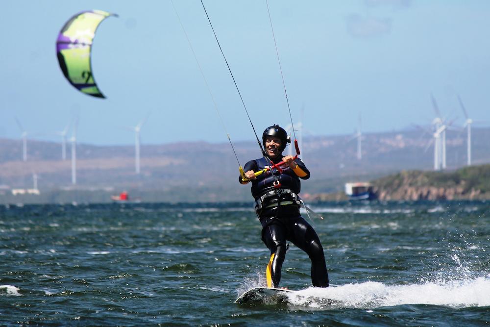 Kitesurf, che passione. In mare tutto l'anno