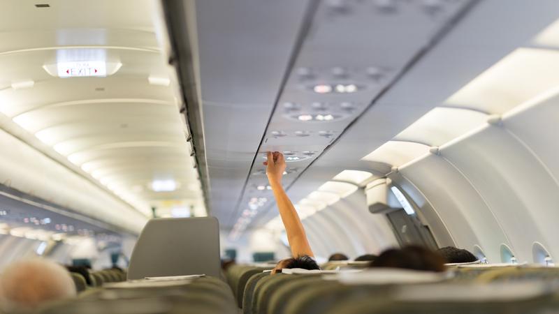 Microbi in volo: mai spegnere il bocchettone dell'aria