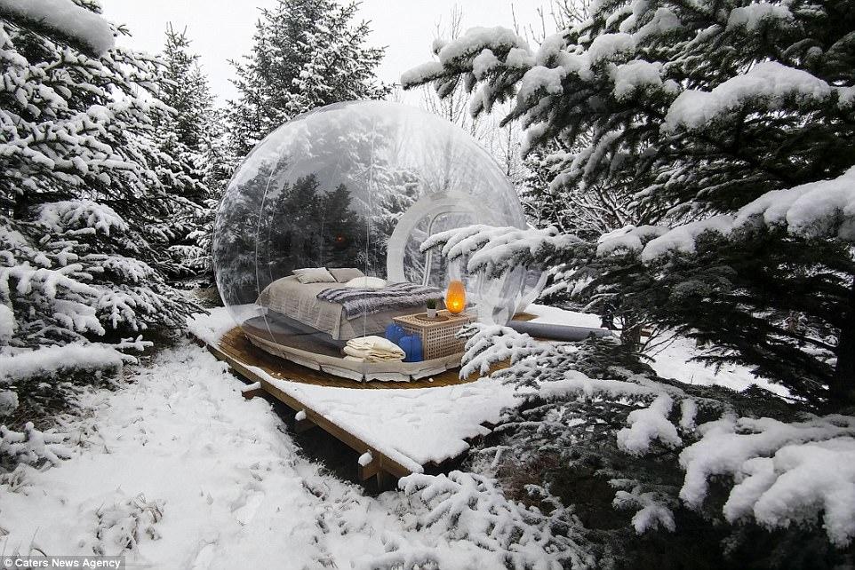 L'hotel a bolla di Skalholt