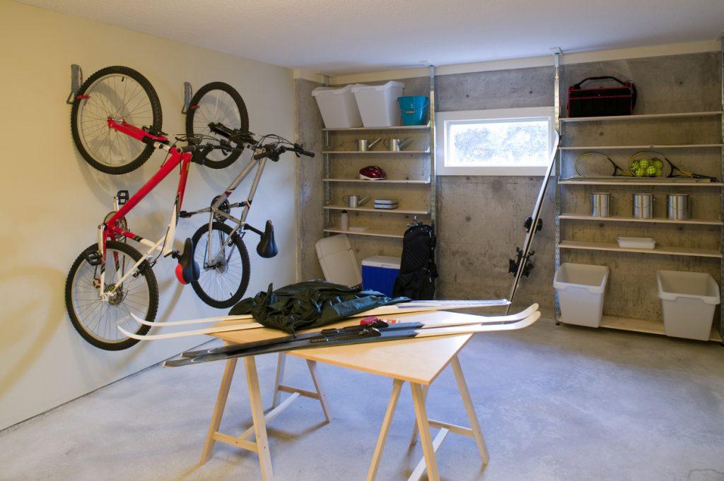 riporre la bicicletta