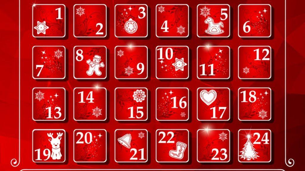 Calendario Avvento Birra.Calendario Dell Avvento Countdown Con Birra E Cioccolato