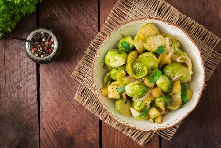 Cavolini di Bruxelles e patate: da contorno a primo piatto