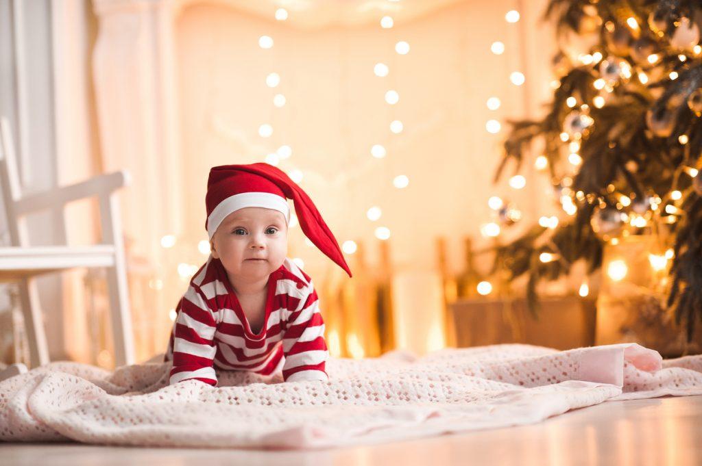 moda bimbo natalizia