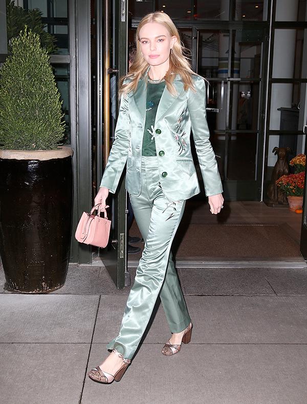 Kate Bosworth indossa un completo firmato Coach