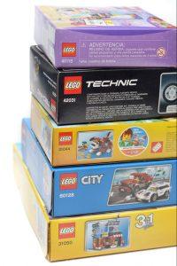 scatole di lego