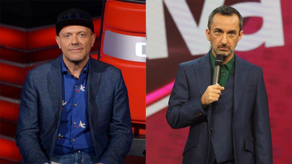 Max Pezzali e Nicola Savino