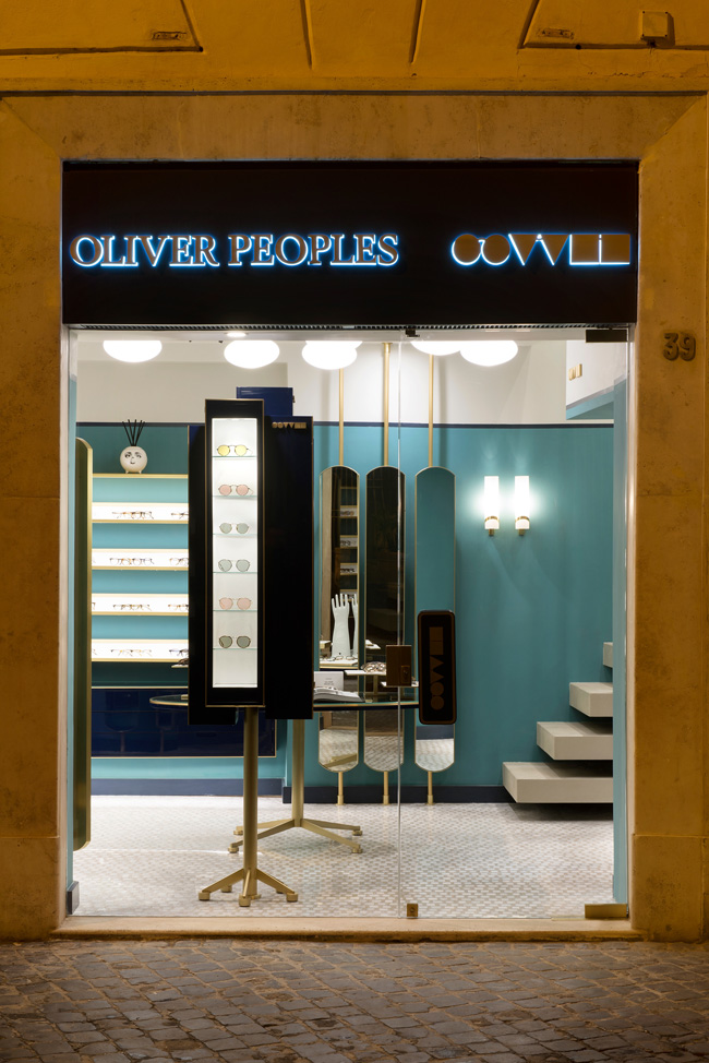 Oliver Peoples, boutique Roma