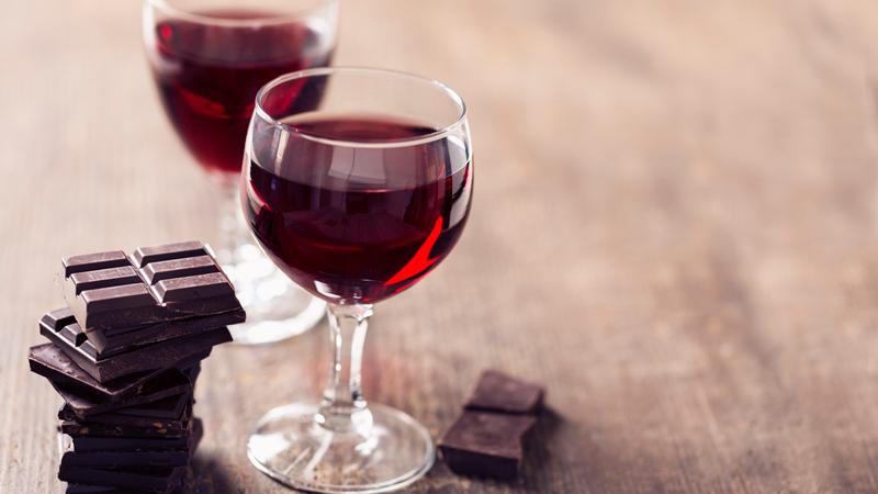 Vino rosso e cioccolato elisir lunga vita