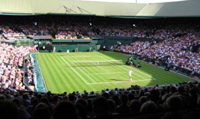 Campo da tennis in erba
