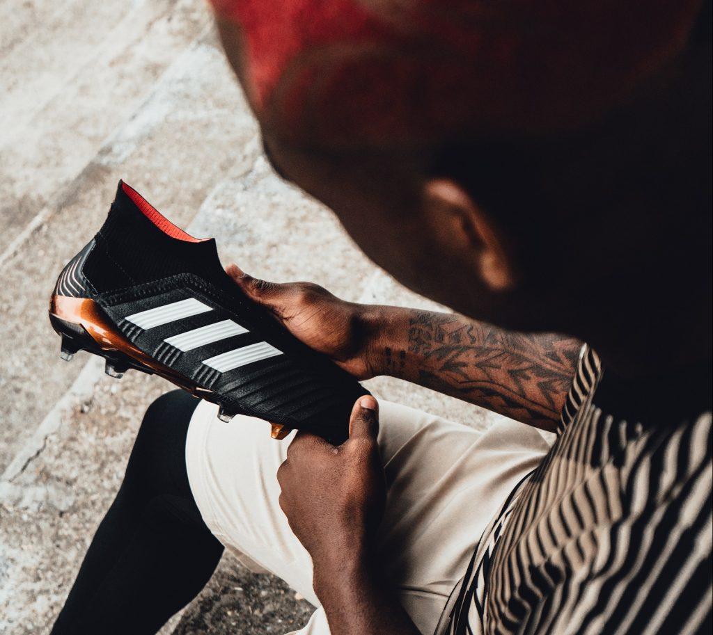 Il calciatore? Sceglie uno scarpino personalizzabile