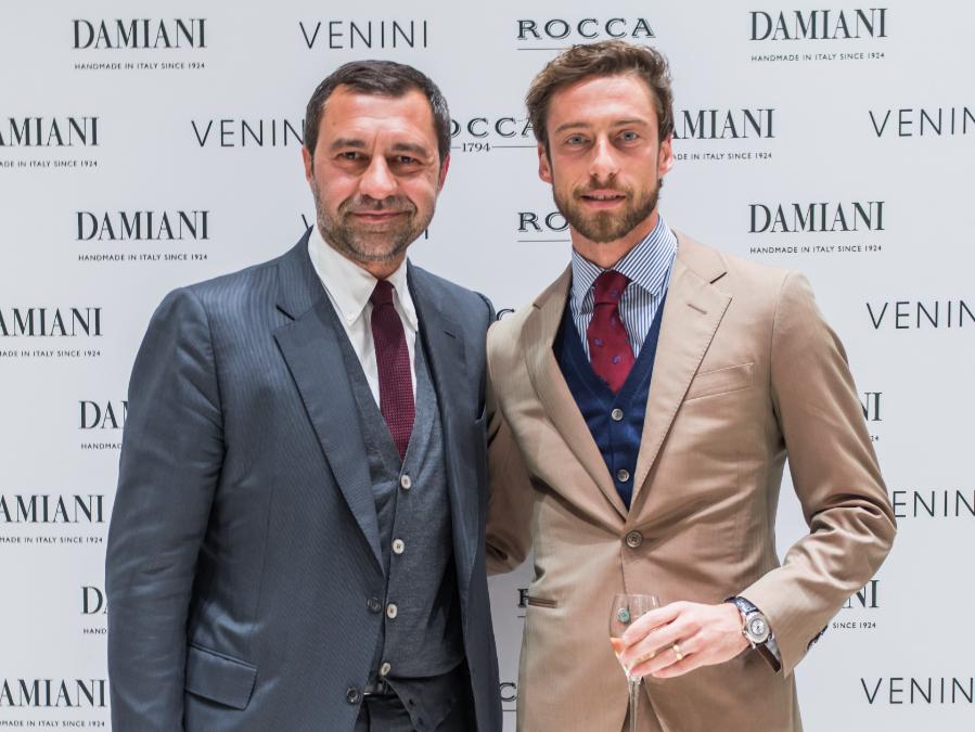 Giorgio Damiani e Claudio Marchisio