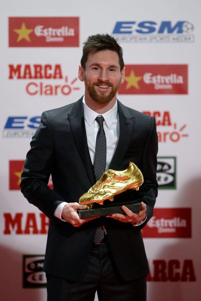 Lione Messi in Emporio Armani