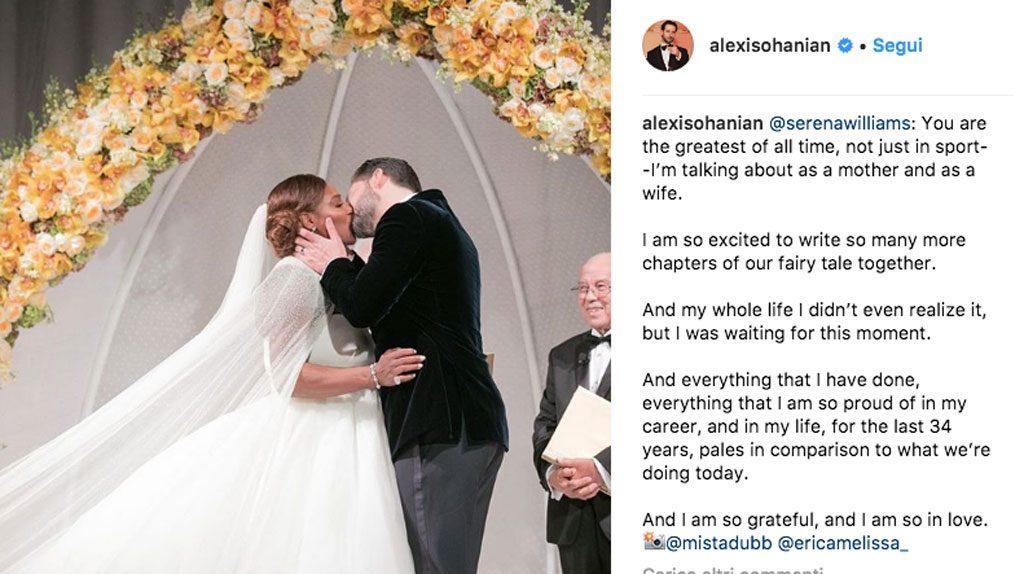 Alexis Ohanian su Instagram