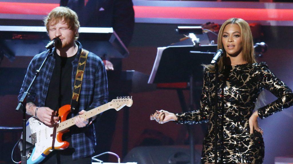 Beyoncé con Ed Sheeran: è revival del duetto