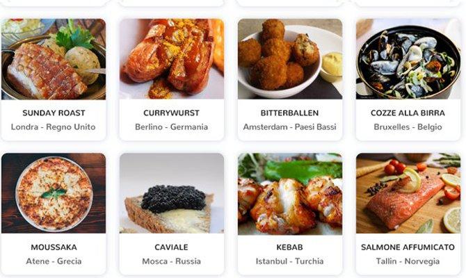 Food travel: alla scoperta di piatti tipici