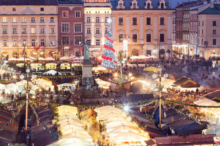 Cracovia al top delle destinazioni delle feste 2017
