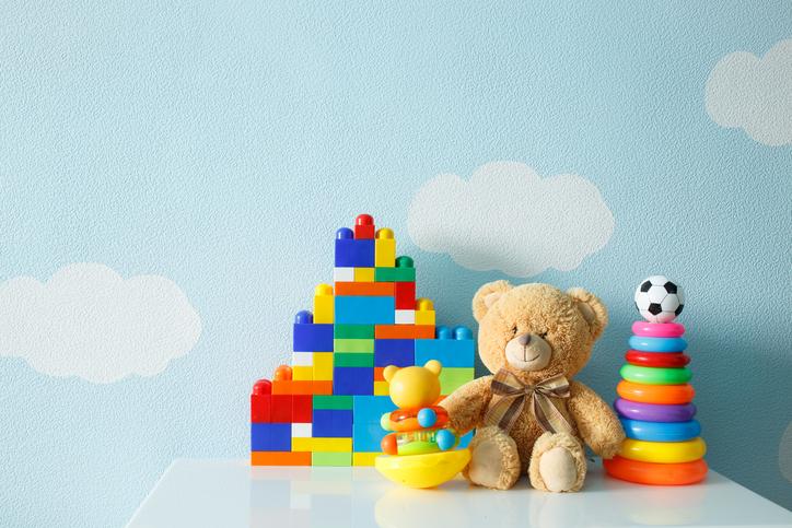 Meno giocattoli, più creatività: lo studio