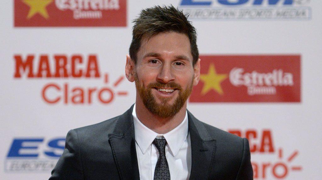 Lionel Messi in Emporio Armani