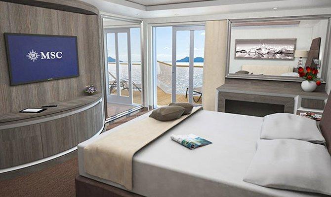 MSC Royal Suite