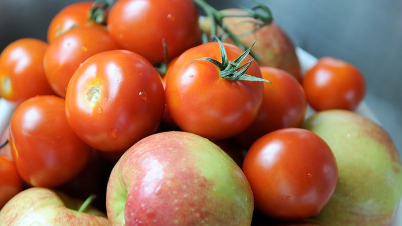 mele e pomodori