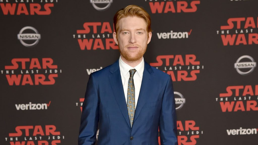 Domhnall Gleeson in Burberry