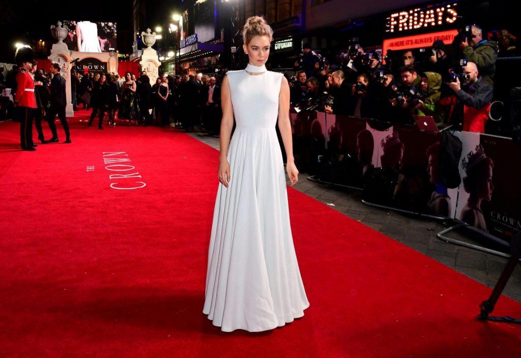 Vanessa Kirby, da Buckingham Palace ai red carpet