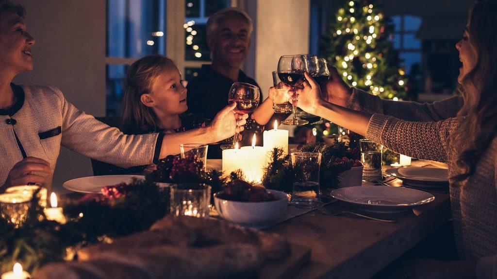 tradizione di Natale a tavola