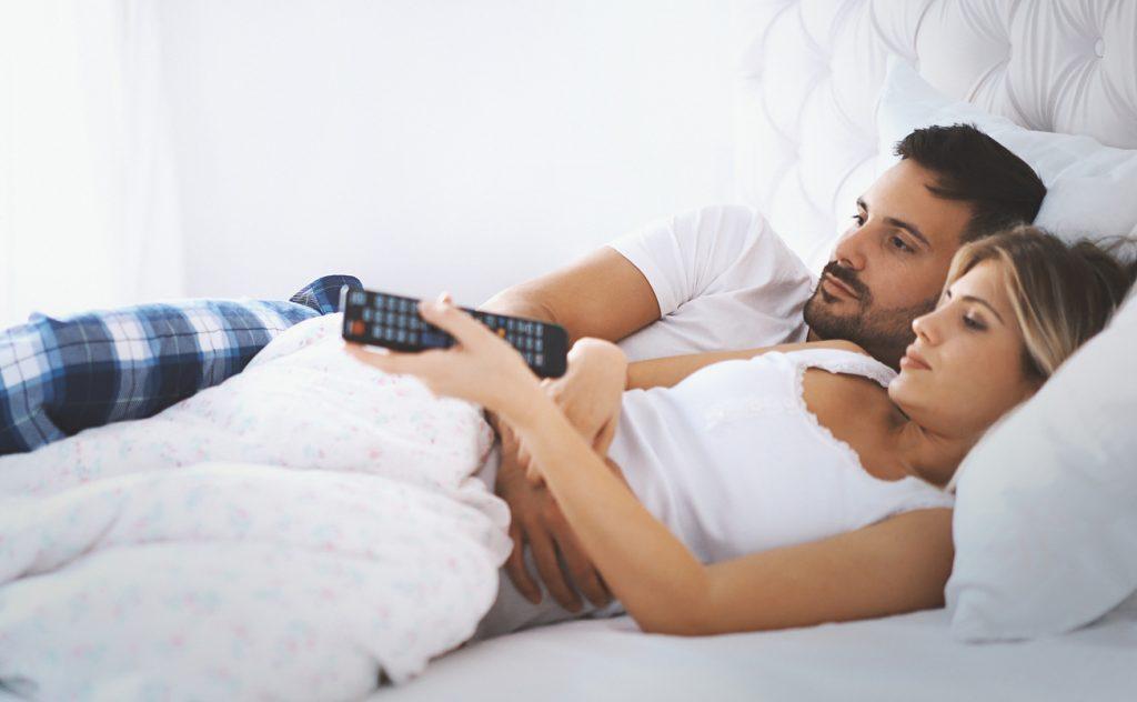 Televisione: in camera è nemica della libido