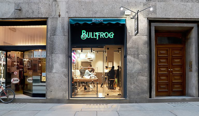 barba artistica da Bullfrog