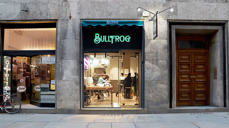 Barba artistica: a Torino è arrivato Bullfrog