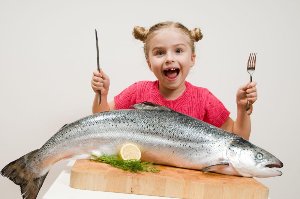 Dieta dei bambini a base di pesce per stare meglio