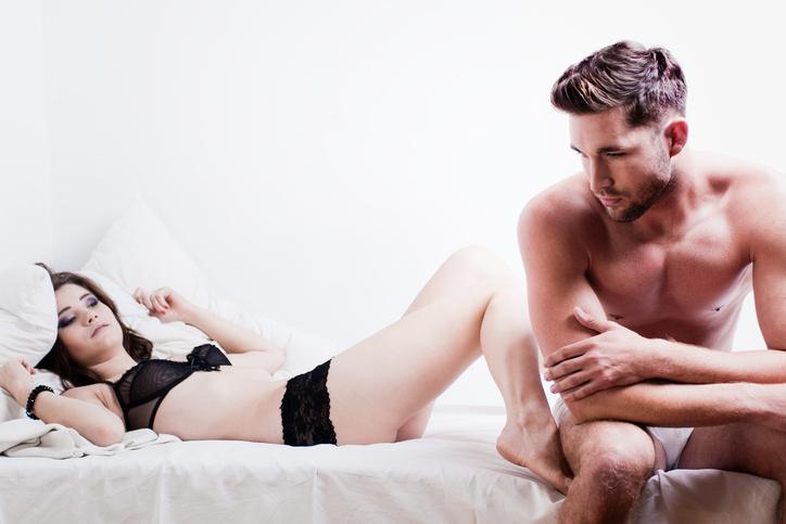 pulsioni e sesso di una coppia a letto