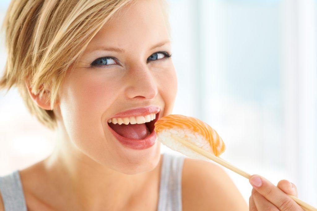 mangiare salmone