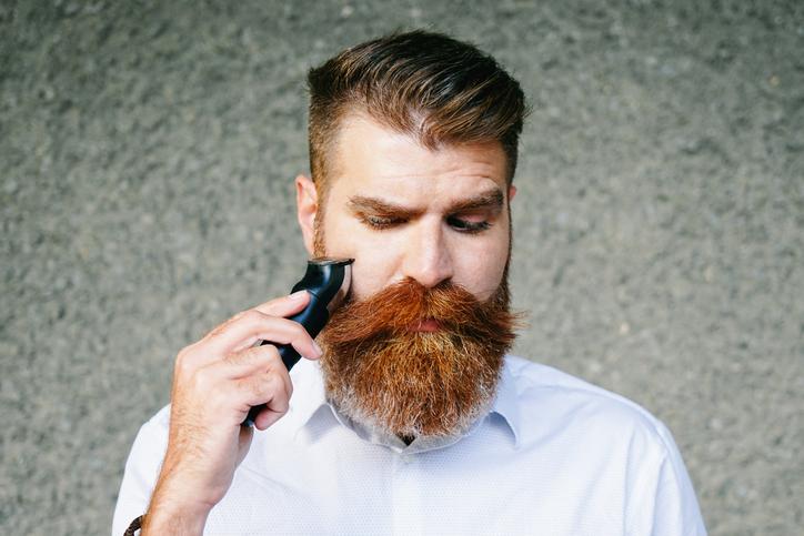 Barba, uomo, rasatura, radersi