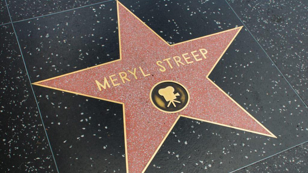 Meryl Streep: stella Walk of Fame