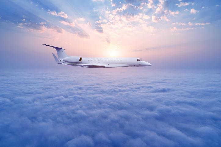 Aereo tra le rotte aeree più congestionate del mondo