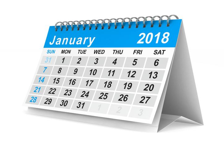 Gennaio 2018: programmare l'estate e non solo