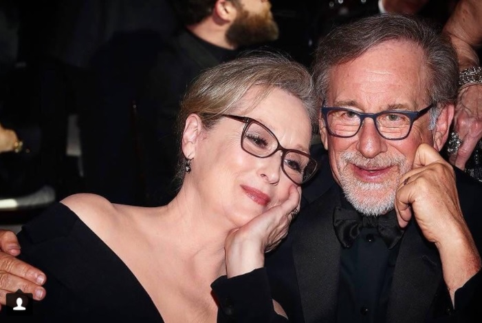 meryl Streep e Steven Spielberg