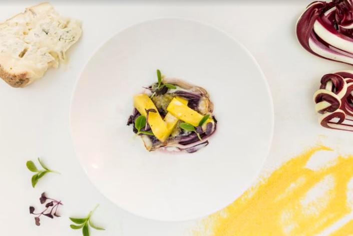 Ricetta vegetariana: radicchio tardivo gratinato