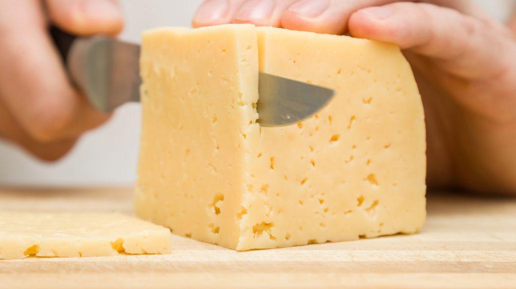 Taglio del formaggio