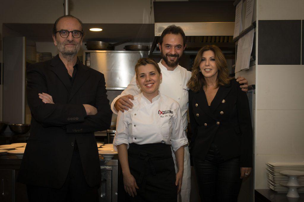 Claudio Vannini, Iside De Cesare, Mirko Moglioni, Tina Vannini