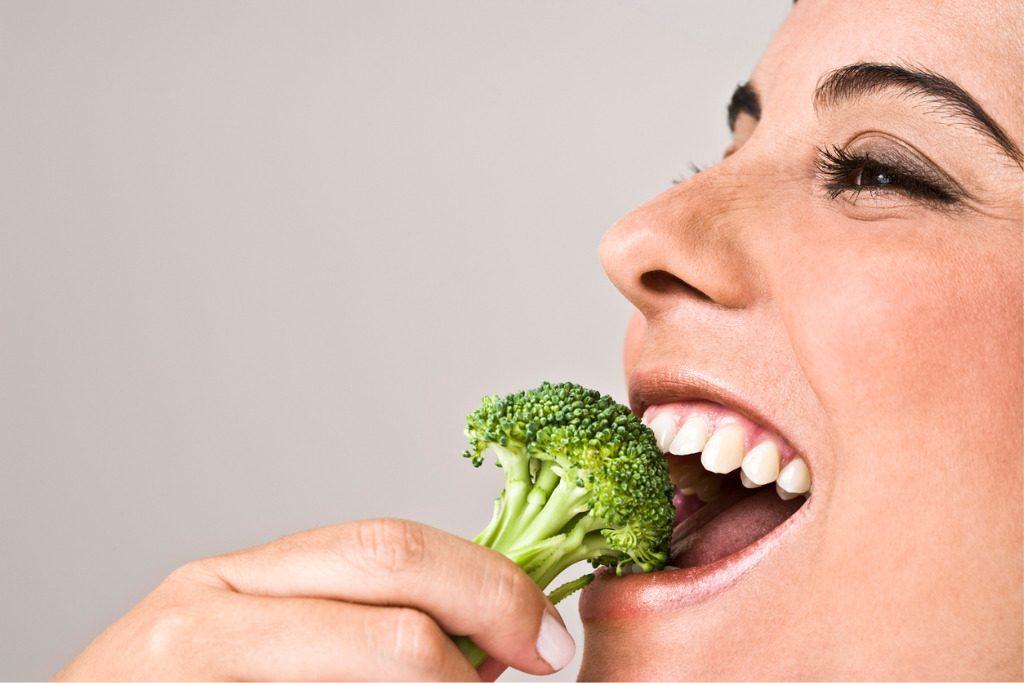 mangiare broccoli