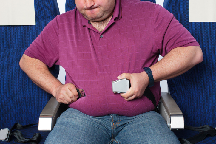 I passeggeri sovrappeso dovrebbero pagare di più?
