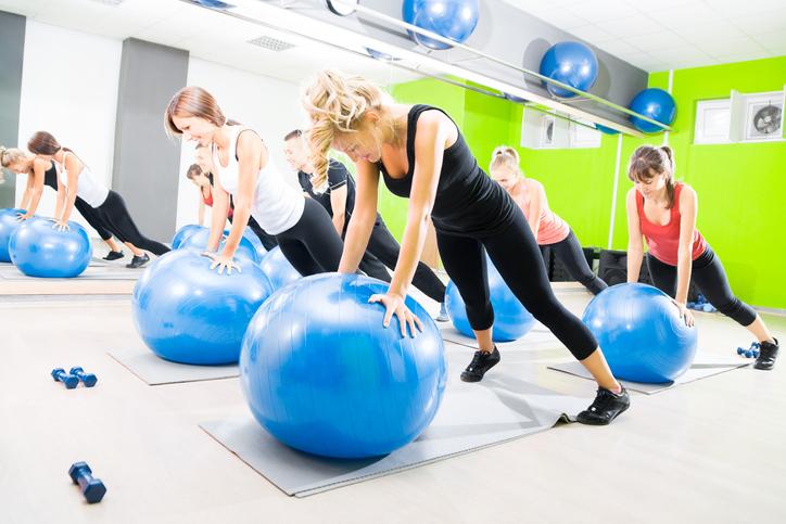 Gymball e sport