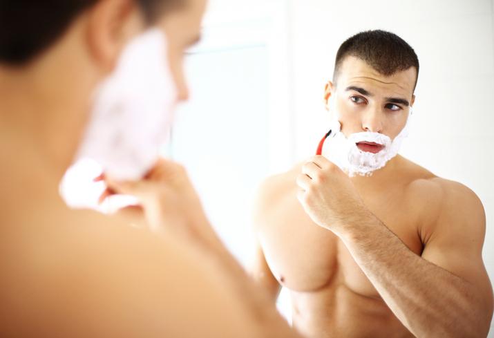 pelo, contropelo e rasatura
