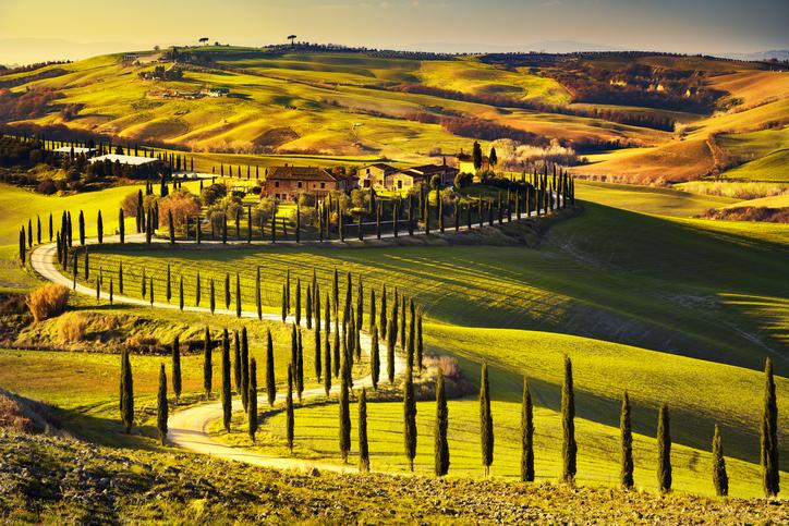 La Toscana per viaggiatori romantici