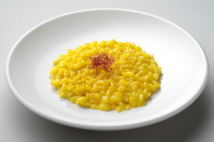 risotto allo zafferano