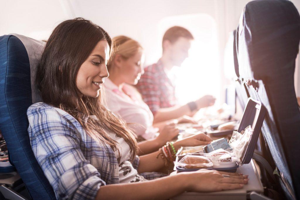Cibi da mangiare per un viaggio in aereo